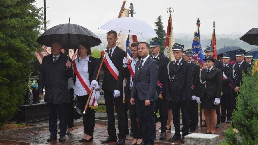 Obchody 77. rocznicy pacyfikacji Skalbmierza.