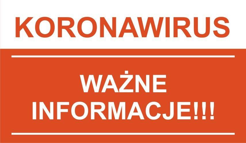 Koronawirus - Aktualne informacje