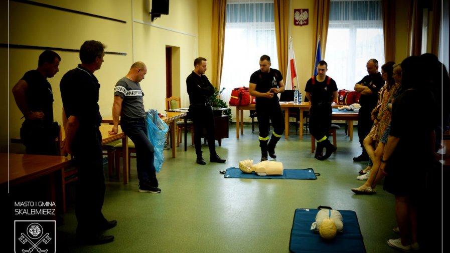 Szkolenie na temat udzielania pierwszej pomocy